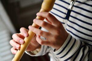 Grać na flecie