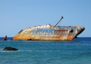 Tonący statek