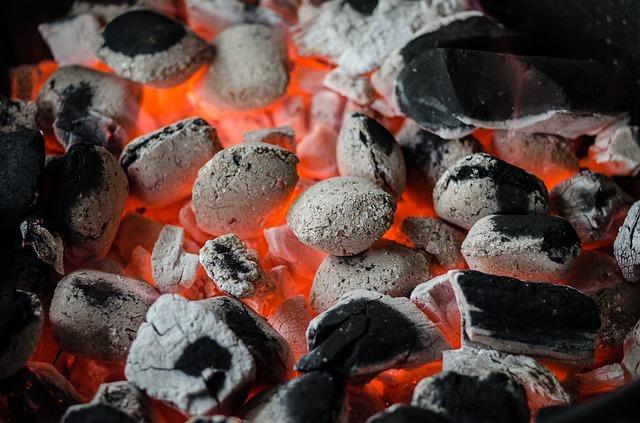 Wypalony węgiel