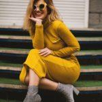 Żółta suknia